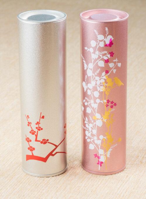 green tea canister sencha fukamushi